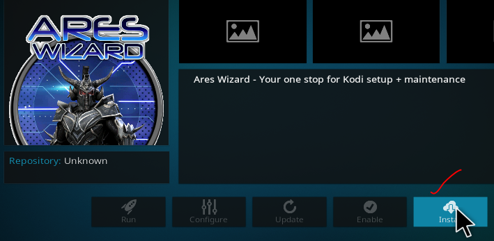 Guide Install Ares Wizard on Kodi 17.6 2018