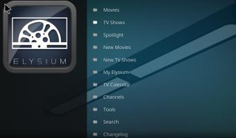 Elysium Kodi Download and Install Latest 17.5 & 17.4