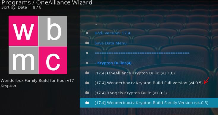 Install Latest Wonder Box Kodi Build 2018   Kodi-Tv