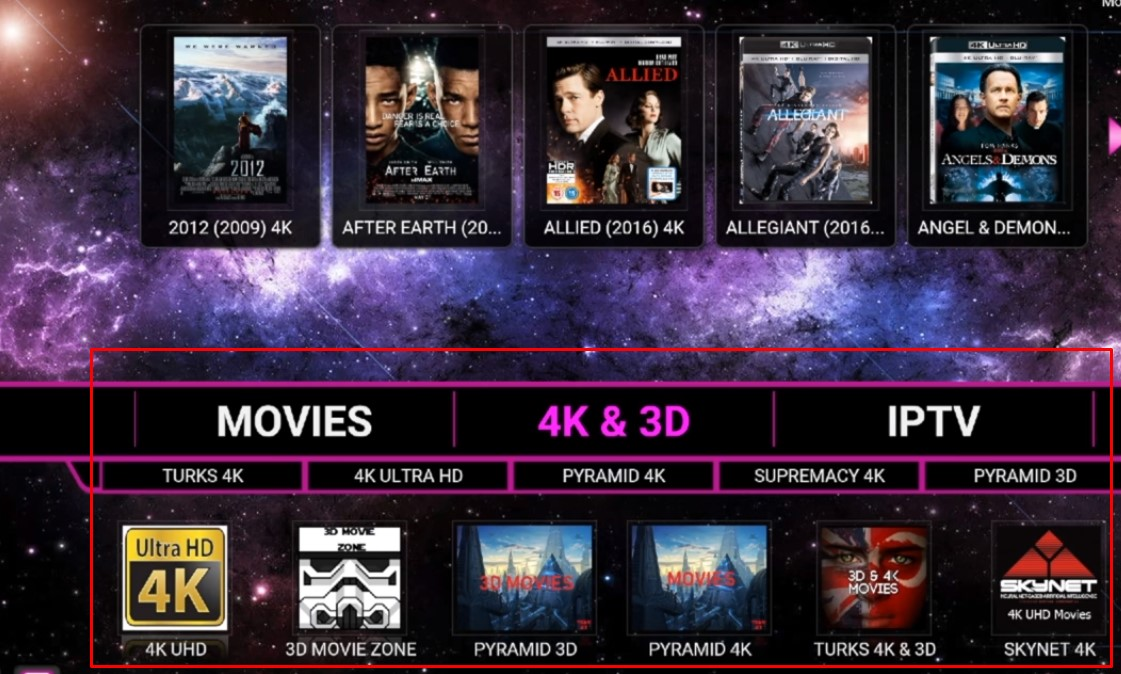 Best 4K Enabled Kodi Build KRYPTONITE