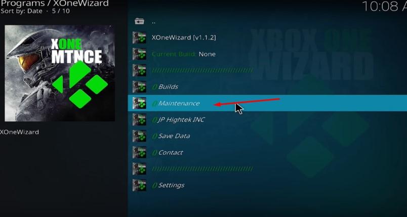 Download XONE WIZARD Kodi Maintenance Addon