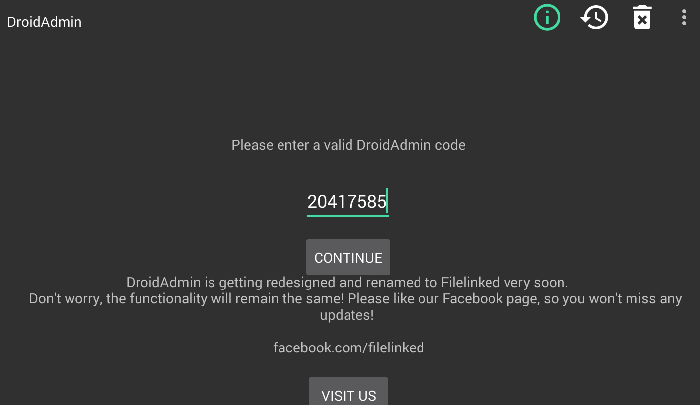 FileLinked Validation Codes Android/Firestick