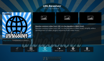 Kodi URL Resolver Updated Download 2018