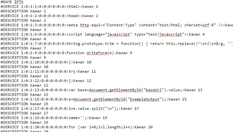How to Convert m3u m3u8 to enigma2 bouquet Online   Kodi-Tv