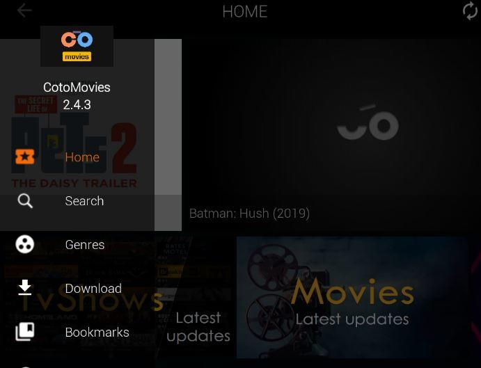 Coto Movies APK 2.4.3 For Android Box, FireStick, Nvidia