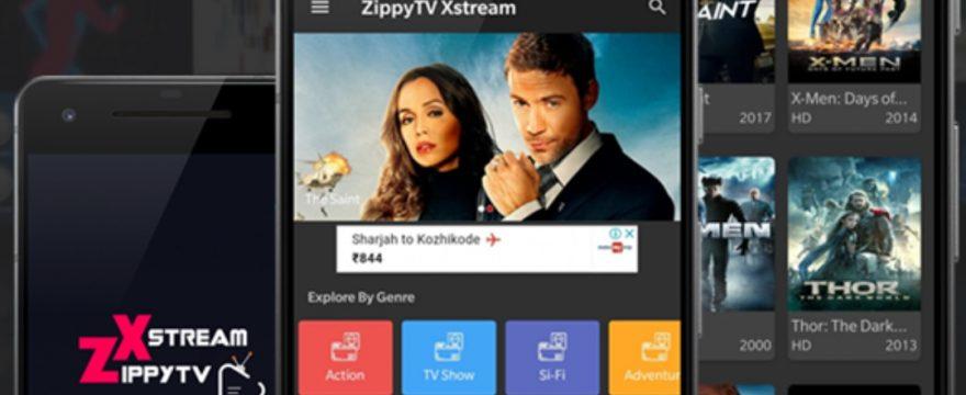 ZippyTv Xstream v1.1.4 Apk Latest Version Download